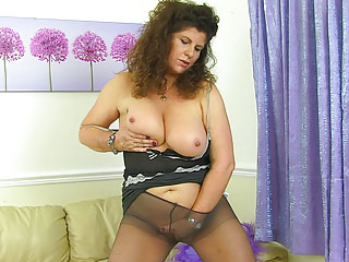 Matures;MILFs;British;Nylon;Mom;Older Woman Fun;HD Videos;Knickers;British MILF;MILF Tights;Tights British milf Gilly doesn't wear...