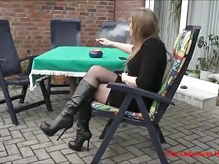 Stockings;MILFs;Nylon BOOTS 5