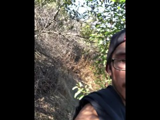 outdoors;flashing;hiking;dick,Amateur;Big Dick;Masturbation;Public;Mature;Solo Male Hiking