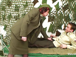Brunettes;Matures;Grannies;Military;European;Mature N Dirty;HD Videos;Grandma Fucks;Grandma Military grandma fucks him in the...
