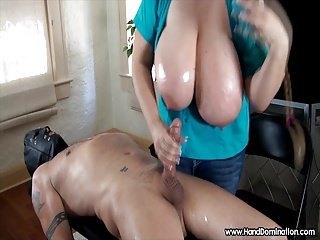 Big Boobs;Handjobs;BDSM;Femdom;MILFs;Hand Domination;HD Videos;Evaluation;Breasts 36H breasts femdom handjob cock...