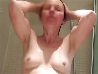 Matures;Showers;Hidden Cams;HD Videos;Small Tits;Wife;MILF Tits;Unaware;MILF in Shower;Shower Tits;In Shower tits a gogo - unaware milf in shower