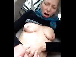 pussy,amateur,homemade,finger,masturbate,public,car,private,outside,road,bate,freeway,amateur Amateur milf masturbating in car