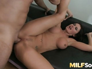 Anal;Blowjob;Brunette;Cumshot;Sex Toy;Hardcore;MILF;HD Videos;Big Tits MILF Eva Karera Stuffs Her Ass with Cock