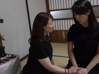 mom;mother;orgasm;squirting,Lesbian;MILF;Squirt;Japanese;Pussy Licking horny lesbian widows