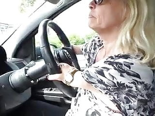 Amateur;MILF;Medical sexy blond flid driving