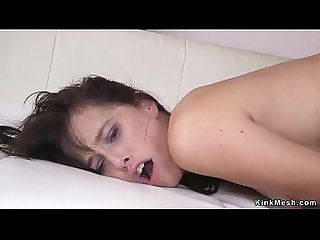 anal,fucking,hardcore,milf,rough,gagging,spanking,bdsm,fetish,bondage,submission,slave,bizarre,tied,pain,kink,sexandsubmission,zapper,kinkmesh,bdsm Husband anal bangs tied up wife in bed