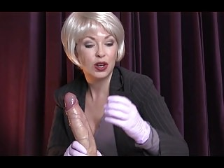 Handjobs;Femdom;MILFs;HD Videos;CFNM;JOI Teaching handjob JOI with ejaculation