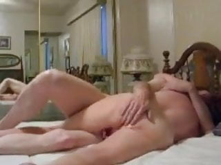 Amateur;Mature;Cuckold;Granny;Wife;Wife Sharing;Eating Pussy;Homemade Hubby cleans and fucks wife pussy