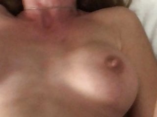 Amateur;Brunette;Hardcore;MILF;POV;HD Videos;Big Natural Tits;Wife POV with my MILF after a threesome