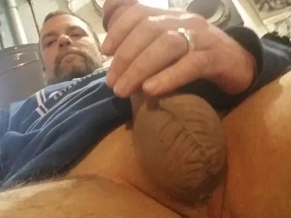 solo;male;married;man,Amateur;Big Dick;Masturbation;Mature;Solo Male Me playing again