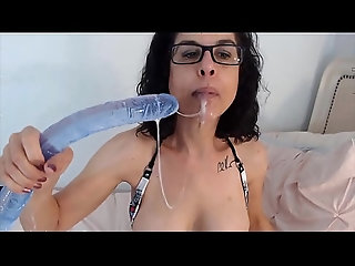 milf,brunette,bj,mature,wet,deepthroat,toys,solo,housewife,milf Nasty deepthroat from wet brunette...