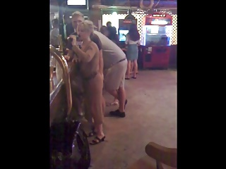 Amateur;Grannies;Matures;Public Nudity;Grinding;Granny Fairfield Guy Grinding On Granny