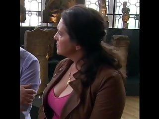 Brunette;Celebrity;MILF;British;Big Tits;European Bettany Hughes' Lovely Big Tits