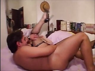 Mature;Stockings;MILF;Italian;Lingerie;Nylon;HD Videos;Threesome Italian, Una Figa Matura 2 (Recolored)