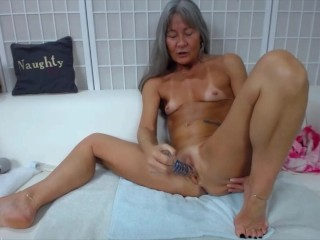 old;granny;mature;dirty;talk;small;biceps;small;tits;petite,Mature;Solo Female petite grandma with small tits and...