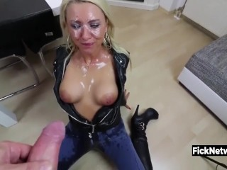 ass;fuck;mom;mother;milf;busty;deustch;german;deutsch;anal;anal;pov;facial;cumshot;pissing;peeing;germany,Blonde;Cumshot;MILF;Anal;German;Pissing GERMAN MILF ANAL AND PISS
