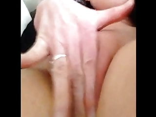 Amateur;Fingering;Mature;MILF;German;Big Natural Tits;Big Tits;European;Mom dreamly orgasm ...