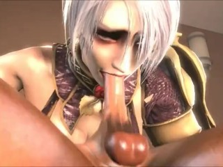kink;butt;mom;mother;anime;ivy;valentine;creampie;soul;calibur;69;cunnulingus;69;tease;licking;sfm,Big Ass;Creampie;Cumshot;Fetish;MILF;Hentai;Cosplay Ivy Valentine Creampie (With Sound)...