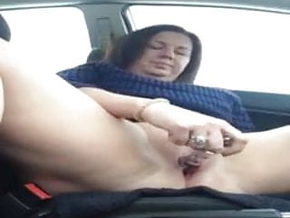 Car;Wife;Mom masturbation
