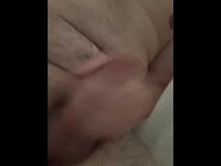 chubby;big;dick,Big Dick;Cumshot;Handjob;Mature;Solo Male Shower tike
