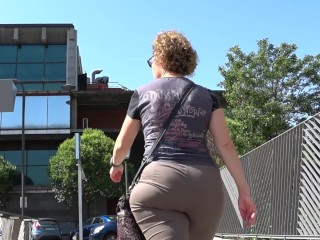 ass;asses;booty;bunda;hidden;camera;voyeur;candid;culona;nalgas;nalgona;butt;old,Big Ass;Mature;Reality;60fps Spanish candid booty mature from...