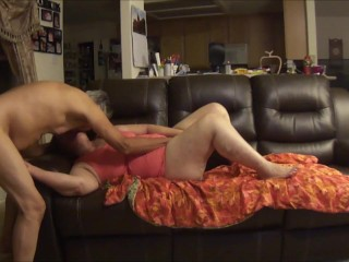 homemade;couple;mature;older;elder;granny;grandma;grandpa,Amateur Horny Elder Couple on a sexual...