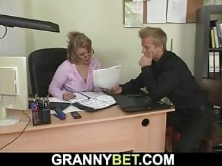 Blowjob;Hardcore;Mature;MILF;Granny;Czech;European;Mom Hot office mature boss sucks and...