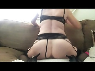 stockings,dildo,pussy,hot,sexy,ass,milf,shaved,amateur,homemade,wet,squirt,masturbation,solo,lingerie,masturbate,horny,lingerie Riding my dildo in front of the...