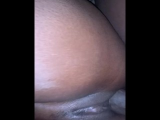 ebony;creampie;amateur;ebony;couple,Amateur;Babe;Big Dick;Creampie;Ebony;Fetish;Romantic Creampie my wifey