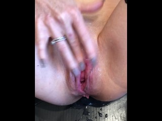 orgasm;squirting;milf;pussy;gaping,Squirt;Pissing;Solo Female Milf squirt