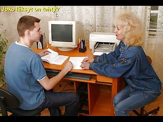 Matures;Old+Young;Czech;Finnish;Mom;HD Videos Slideshow with Finnish Captions: Mom...