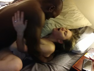 bbc;wife,Amateur;Blonde;Interracial;Verified Couples Passionate love making part 2
