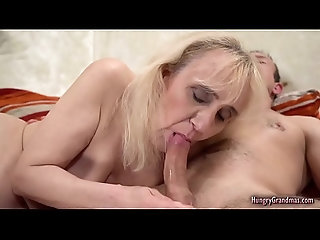 hardcore,pornstar,blowjob,mature,granny,oldvsyoung,mature Blonde Granny Cant Say No to a Big Cock