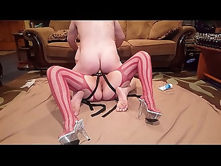 anal,sexy,ass,amateur,wife,strap-on,couple,pegging,anal Pegging like a jackrabbit