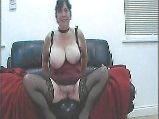 Amateur;Sex Toy;Stockings;MILF;Lingerie;Big Tits;Girl Masturbating;Homemade Sue Jones
