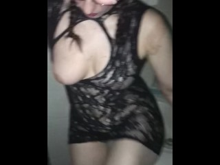 pornographic;lingerie;striptease,Big Ass;Brunette;Fetish;Interracial;MILF;Party;Role Play;Verified Amateurs;Solo Female On my way out to an escort club