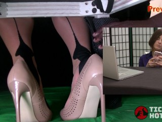 bdsm;kink;mom;mother;tickling;tickling;feet;foot;tickling;nylon;tickle;nylon;feet;nylon;soles,Babe;Bondage;MILF;Feet;Verified Amateurs,Helena Price Distracted Secretary 2 - Helena Price...