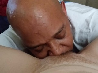 petite;old;redhead,Amateur;Babe;Interracial;Mature;Red Head;Small Tits;Pussy Licking I love when he eats my pussy
