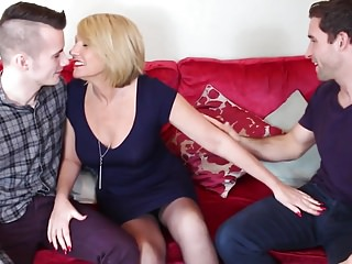 Matures;Stockings;MILFs;Old+Young;Grannies;Mature NL;HD Videos;Two Sons;Mature Young;Young Fucked;Mother;Mature Fucked;Young;Fucked Mature mother fucked by two young sons