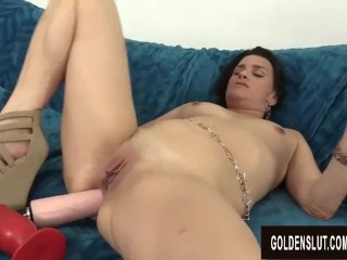 goldenslut;mature;mature;woman;old;sex;toys;masturbation;solo;brunette;orgasm;michele;marks;masturbate;adult;toys,Brunette;Masturbation;Toys;Mature;Solo Female;Female Orgasm Mature Hottie Michele Marks Stuffs...