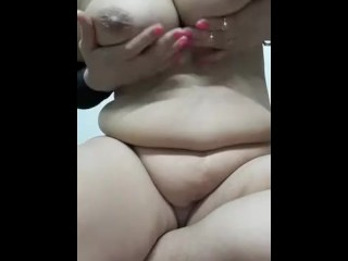 tits;arab;milf;slut,Amateur;Babe;Big Tits;Blonde;MILF;Arab;Solo Female;Female Orgasm;Romantic Arab Milf Playing with huge tits