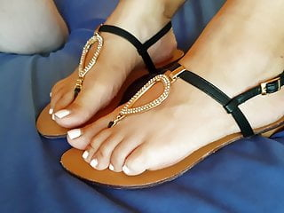 Mature;MILF;Foot Fetish;Indian;HD Videos;Mom my mom's new sandals