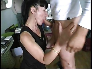 Amateur;Matures;Group Sex;French;Gangbang;Old;5X: Xham The gangbang of Martine 45 years old