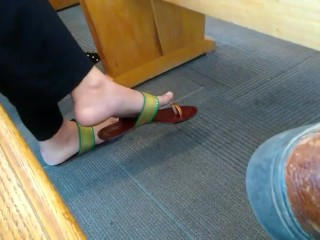 kink;mom;mother;public;outside;candid;shoeplay;candid;feet;feet;candid;shoeplay;dangling;candid;dangling,Amateur;Public;MILF;Feet;Indian;Old/Young;Solo Female Indian girl shoeplay