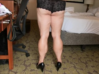 kink;chubby;old,Fetish;Mature Tempest humliating the photographer...