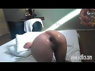 anal,gaping,amateur,mature,toy,gape,fetish,fisting,bizarre,bottle,object,anal-fisting,fist-fuck,anal Anal fisting and XXL bottle insertions