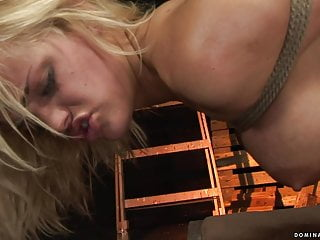 Blonde;BDSM;Bisexual;MILF;HD Videos;Fisting;Big Tits;European Janny tied and fisted