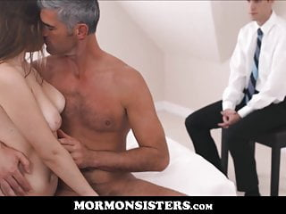 Teen;Old & Young;Cuckold;HD Videos;Small Tits;Wife;Wife Sharing;Big Cock Teen Mormon Sister Has Sex With...