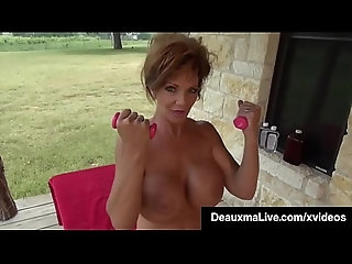 outdoor,oiled,milf,fingering,mature,oil,naked,masturbation,feet,exercise,big-tits,cougar,huge-boobs,foot-fetish,solo-girl,wet-body,muscle-girl,deauxma,vna-live,vna-girls,oiled Naked Mommy Deauxma Gets Fit On the...
